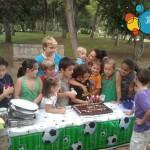 Celebrar los cumpleaños de los peques al aire libre