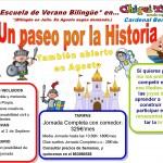 Sorteo 1 semana Escuela de Verano Chiquitín Benlloch – Un paseo por la Historia