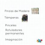 Manualidades de verano- Pinzas decoradas