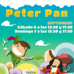 Ganador sorteo entradas Peter Pan Sala Carolina.