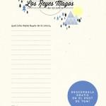 Imprimibles carta a los Reyes Magos.