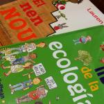 Libros interesantes: El nen nou y El gran libro de la ecología.