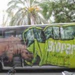 """BIOPARC Valencia """"en ruta salvaje"""" con un espectacular autobús tematizado"""